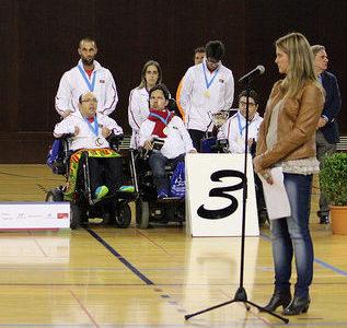 Presentació de la Cerimònia de Clausura de l'Europeu de Boccia 2015