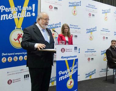 Presentació de la Campanya 'Penja't una medalla' de la Diputació de Barcelona