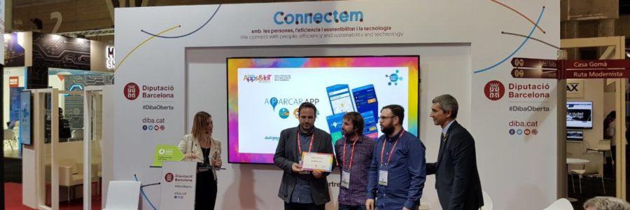 Presentació del premis 'Apps & IoT for citizens' per a la Diputació de Barcelona al Congrés de Smart Cities