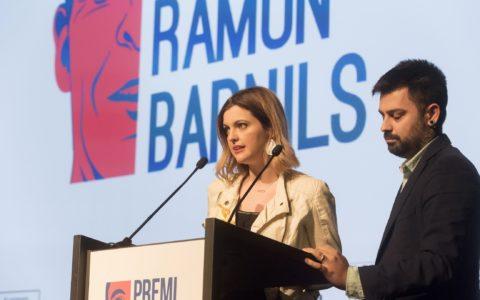 Presentació dels Premis de Periodisme d'Investigació Ramon Barnils 2017